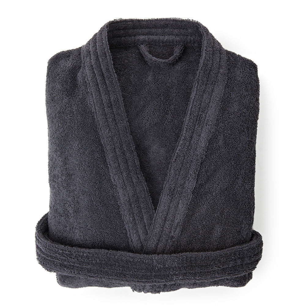 Organic Cotton Robe Grey