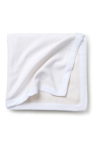 Stone Washed Cotton Bedspread White