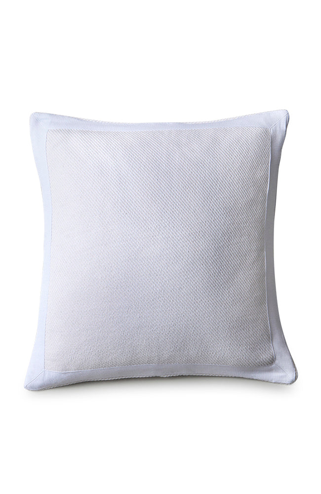 Stone Washed Cotton Cushion White