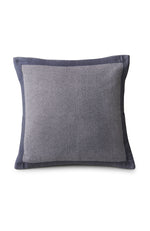 Stone Washed Cotton Cushion Grey