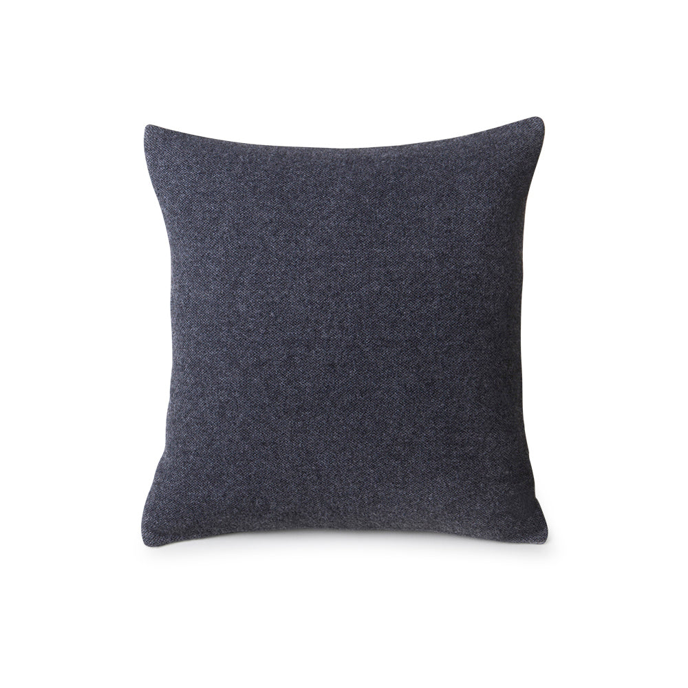 Recycled Wool Cushion Dark Grey