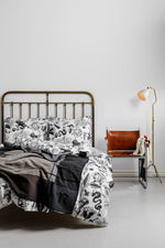 Tattoo Print Bedding by Raul Magdaleno