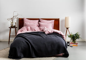 Structured Bedspread Grey