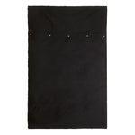 Black Denim Bedspread by Raul Magdaleno