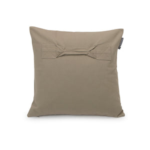 No 1 Military Canvas Cushion by Raul Magdaleno