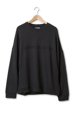 Oversize Sweater Cotton Jersey Grey
