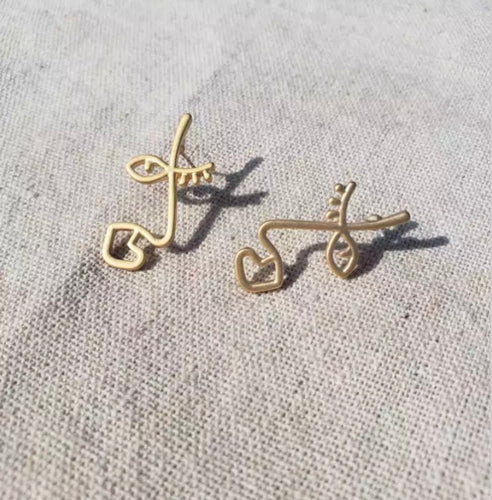 PARIS EARRINGS (GOLD)