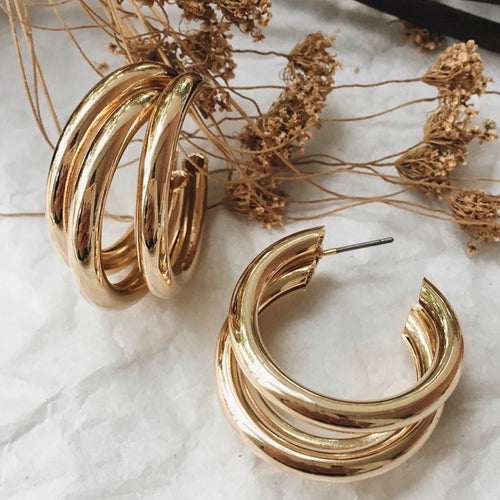 PALAZZO EARRINGS (GOLD)