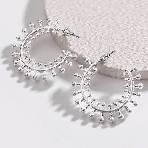 SOHO EARRINGS (SILVER)