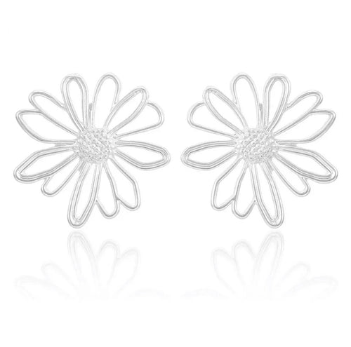 DAISY EARRINGS (SILVER)