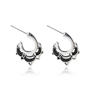SANTA BARBRA EARRINGS (SILVER)