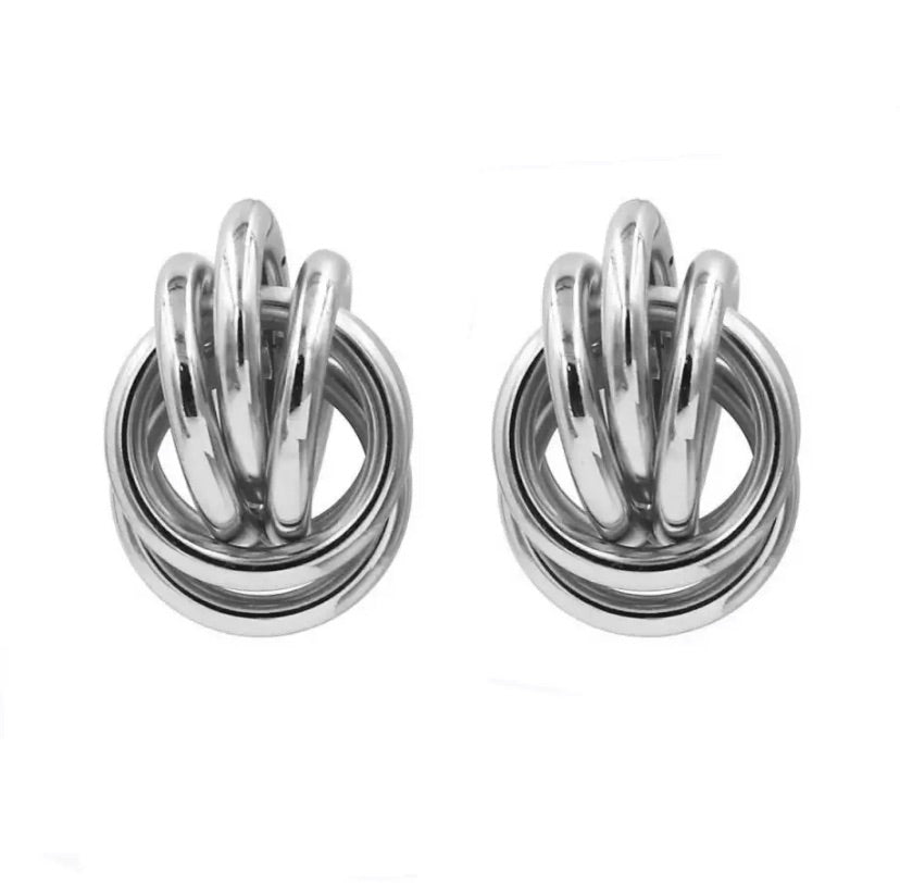 ATHENS EARRINGS (SILVER)