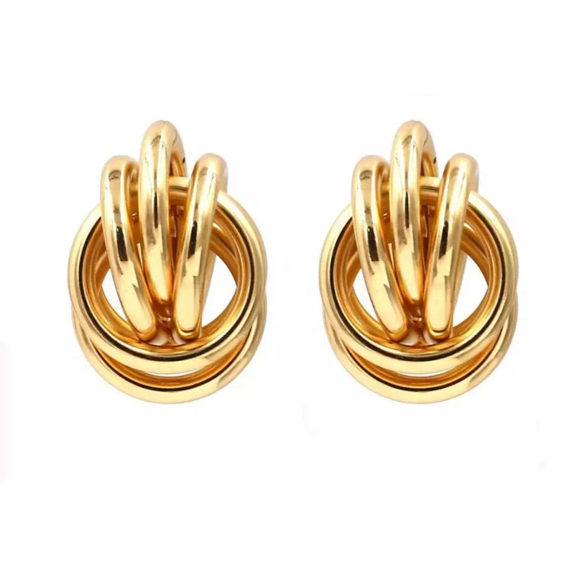 ATHENS EARRINGS (GOLD)
