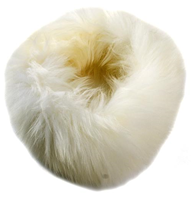 Long Fur Sheepskin Headband - Artemis Brighton