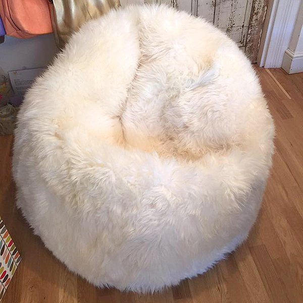 Giant Sheepskin Bean Bag - Artemis Brighton