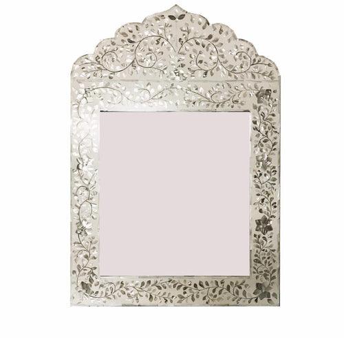 Mother Of Pearl In-Lay Mirror - Artemis Brighton
