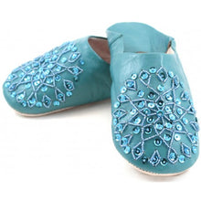 Load image into Gallery viewer, Moroccan Babouche Slippers - Artemis Brighton