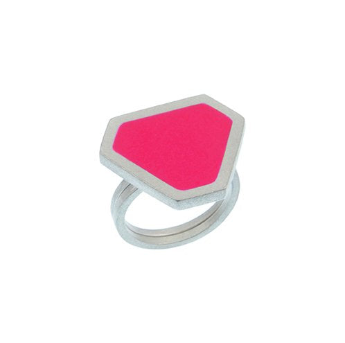 Tronqué triangle adjustable ring