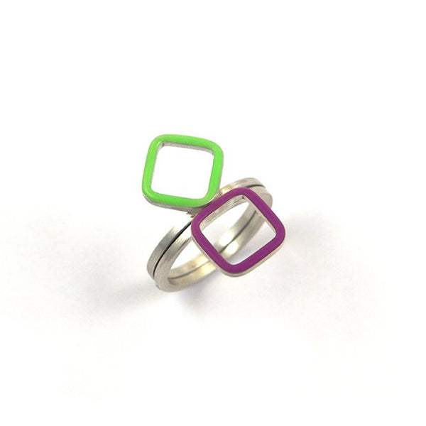 Losange stackable ring
