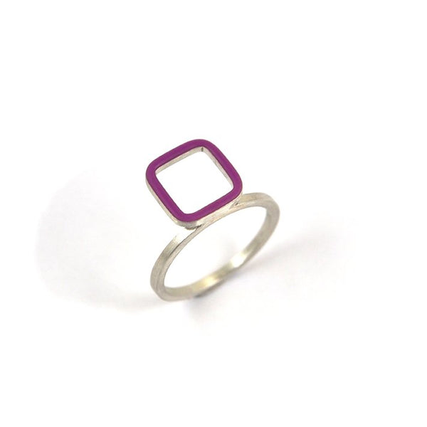 Carré stackable ring