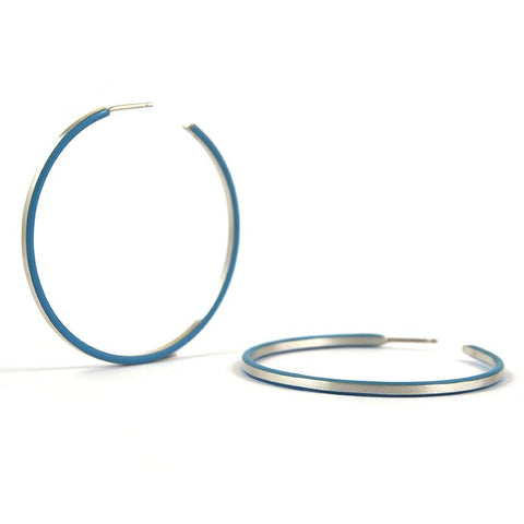 Créole cercles hoop earrings - medium