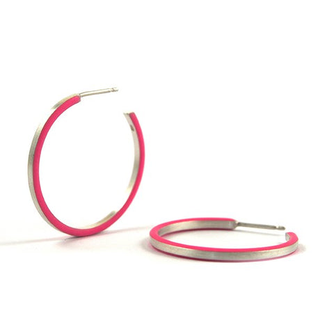 Créole cercle hoop earrings - small