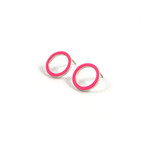 Cercle stud earrings - small