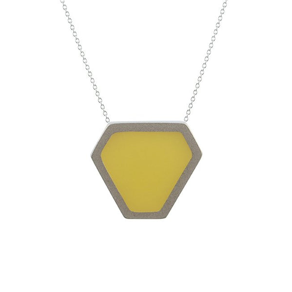 Tronqué triangle pendant - medium