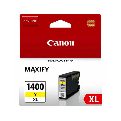 Canon 1400XL Yellow Inkjet Cartridge (1400XL Y) - Saudi Arabia