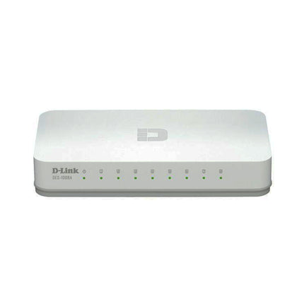 D-Link 8 Port Gigabit Desktop Switch - DGS-1008A - Saudi Arabia