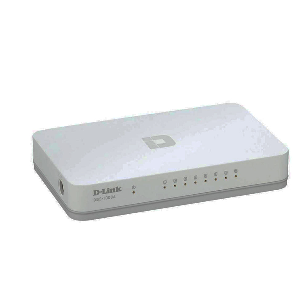 D-Link 8 Port Gigabit Desktop Switch - DGS-1008A