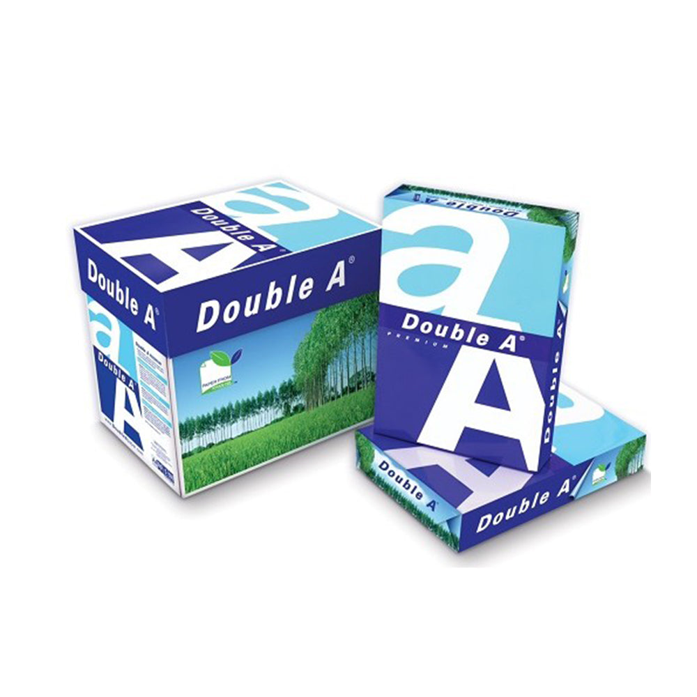 Double A Copy Paper A4 80GSM 5 Packs of 500 Sheets
