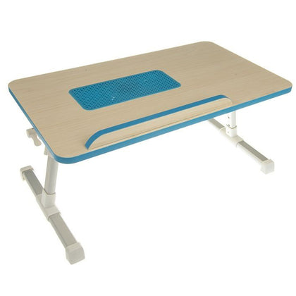Ergonomic A8 Aluminum Adjustable Folding Laptop Cooling Table - Multicolour - Saudi Arabia