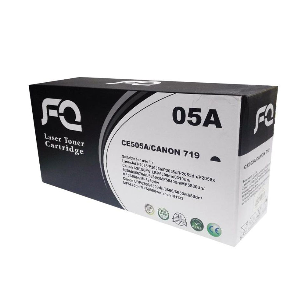 FQ-05A l 719 Laser Toners Compatible with HP and Canon Printers CE505A l CANON 719