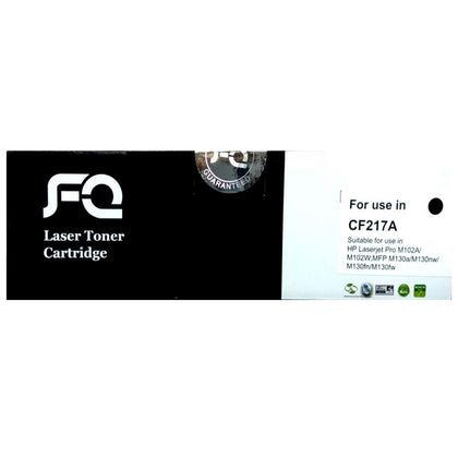 FQ 17A Laser Toner Cartridge - Black Replacement for HP CF217A - Saudi Arabia