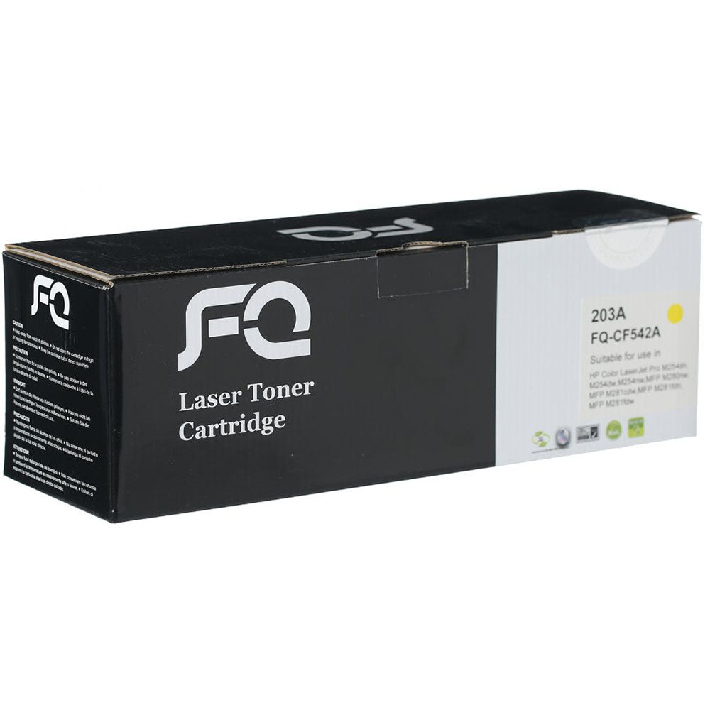 FQ 203A Compatible Laser Jet Toner Cartridge Yellow (CF542A)