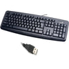 Genius Wired Desktop Keyboard KB-110 for PC - Black