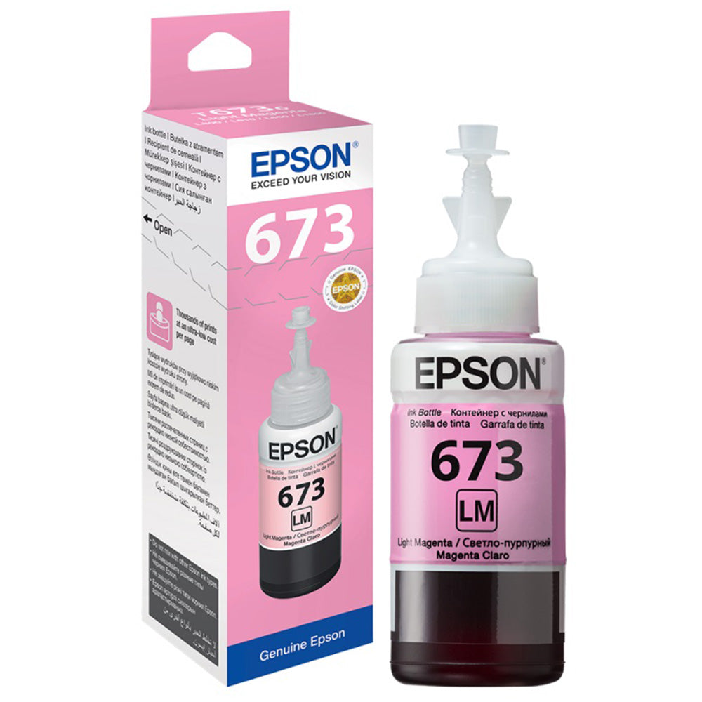 Epson 673 Light Magenta EcoTank Ink Bottle T6736