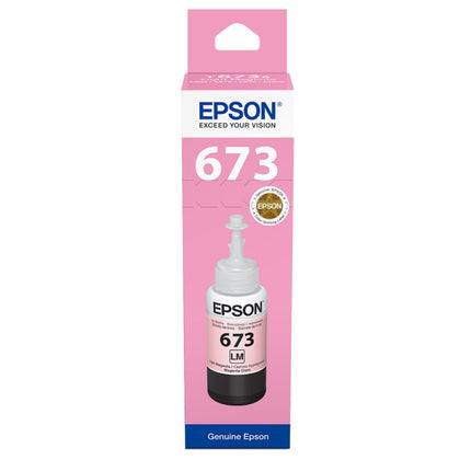 Epson 673 Light Magenta EcoTank Ink Bottle T6736 - Saudi Arabia