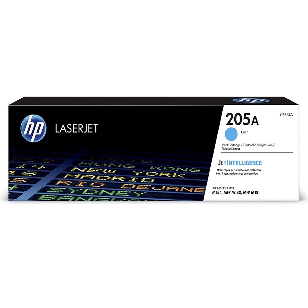 HP 205A Cyan Original LaserJet Toner Cartridge | CF531A