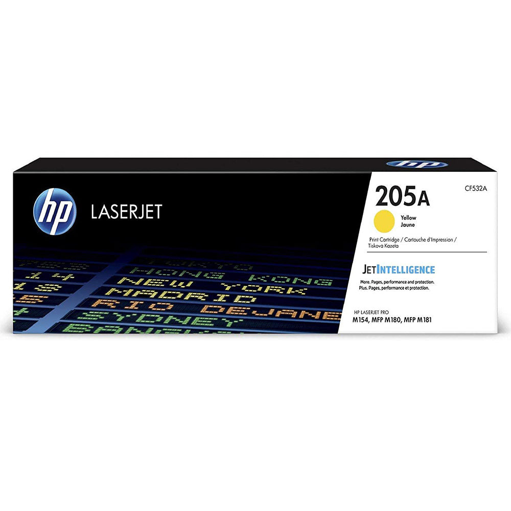 HP 205A Yellow Original LaserJet Toner Cartridge | CF532A