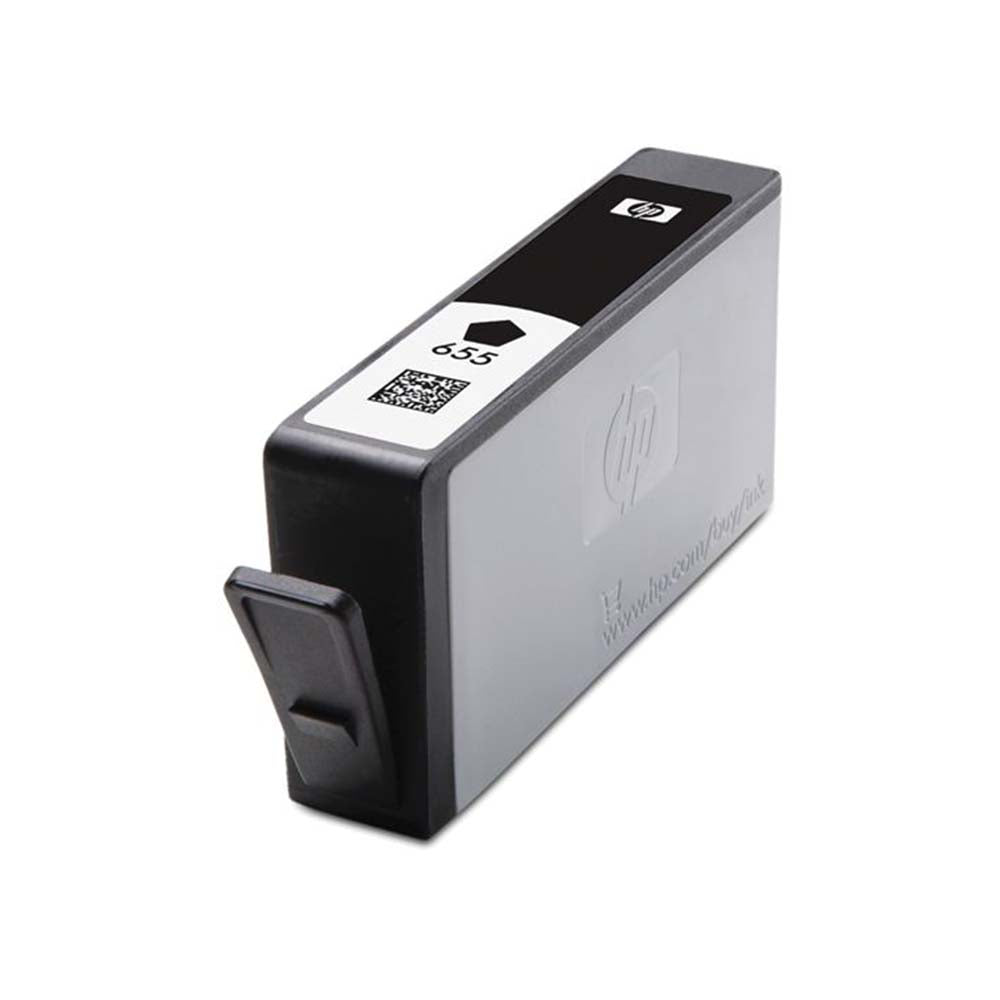 HP 655 Black Ink Advantage Cartridge - CZ109AE