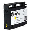 HP 933XL High Yield Yellow Original Ink Cartridge (CN056AE)