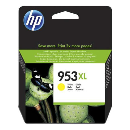 HP 953XL Yellow High Yield Original Ink Cartridge | F6U18AE - Saudi Arabia