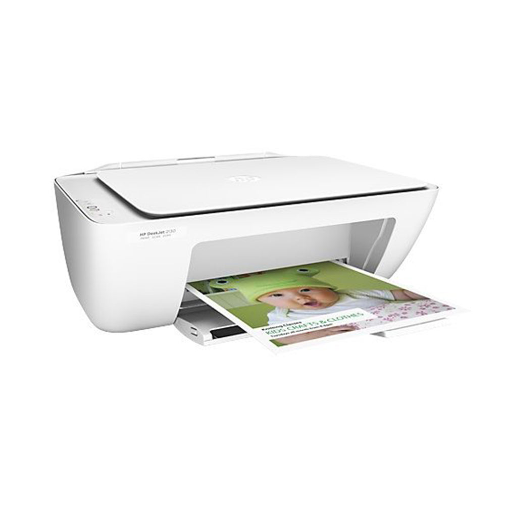 HP Deskjet 2130 All-in-One Printer - White
