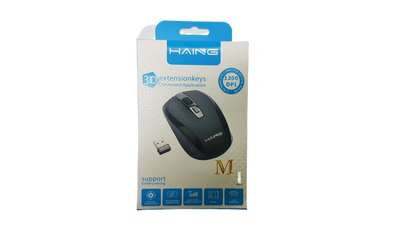 HAING M1 Wireless Mouse 2.4G 1200 DPI - Saudi Arabia