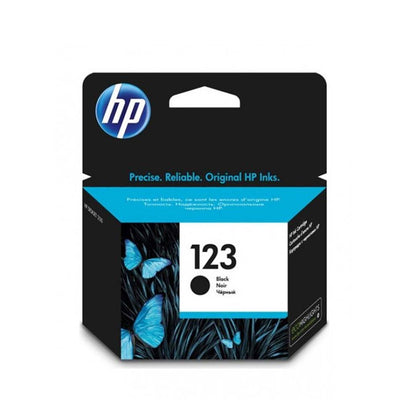 HP 123 Ink Cartridge - Black - Saudi Arabia