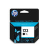 HP 123 Ink Cartridge - Black