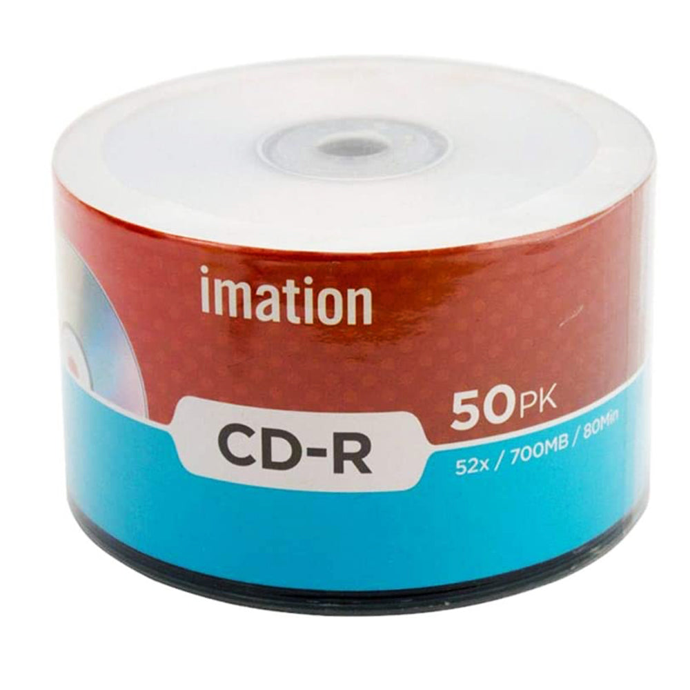 Imation CD-R 700 MB 52X 50 CD Pack