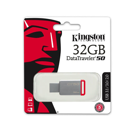 Kingston 32GB Data Traveler USB Flash drive - DT50 - Saudi Arabia